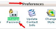 نحوه ی تغییر رمز عبور مربوط به کنترل پنل هاست لینوکس cPanel