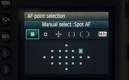آموزش استفاده از قابلیت فوکوس خودکار نقطهای در دوربینهای عکاسی