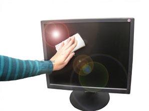 بهترین روش های تمیز کردن صفحه نمایش کامپیوتر و لپ تاپ