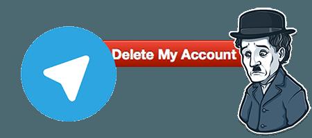 آموزش حذف اکانت تلگرام اندروید Telegram