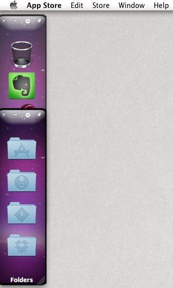 """اموزش سازماندهی نرم افزارها،فایل هاو پوشه های موجود برروی """" OS X Desktop"""" با استفاده از """" DockMenus"""""""