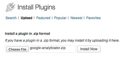 اموزش اضافه کردن گوگل آنالیز به داشبورد ورد پرس