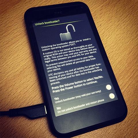 آموزش آنلاک رسمی HTC