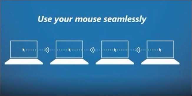 اموزش استفاده از یک موس و کیبورد بین چندین کامپیوتر