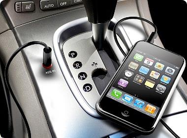 آموزش تصویری اتصال گوشی به ضبط ماشین