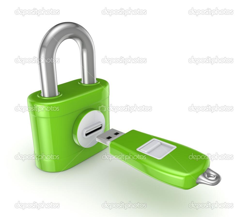 چگونه بروی فلش مموری در ویندوز بدون استفاده از نرم افزار رمزبگذاریم؟