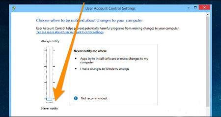 اموزش غیرفعال کردن کنترل حساب کاربری UAC در ویندوز