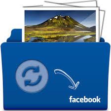 اموزش اشتراک گذاری سریع تصاویر در فیسبوک با برنامه Drop N Sync