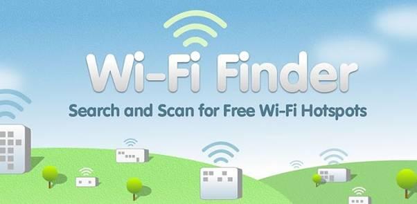 افزونه WIFI Finder برای شناسایی سرویس wifi