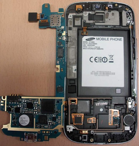 آشنایی با قطعات و سخت افزار های گوشی های تلفن همراه