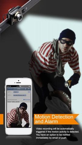 اموزش ساخت دوربین امنیتی توسط آیفون و وب کم لپ تاپ