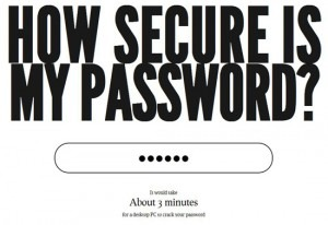 همین الان امنیت پسورد خود را چک کنید