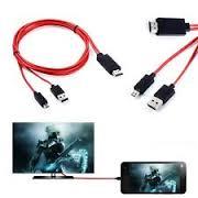 اتصال گوشی موبایل به تلویزیون با کابل MHL