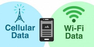 اموزش تصویری استفاده همزمان وای فای و اینترنت گوشی برای افزایش سرعت اینترنت اندروید