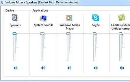 چگونه سطوح متفاوت صدا برای نرم افزارهای مختلف ویندوز 7 داشته باشیم